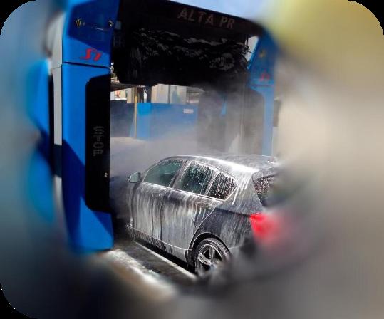 Lavagens interiores e exteriores de carros